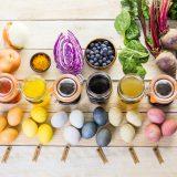 prírodné farbenie veľkonočných vajíčok