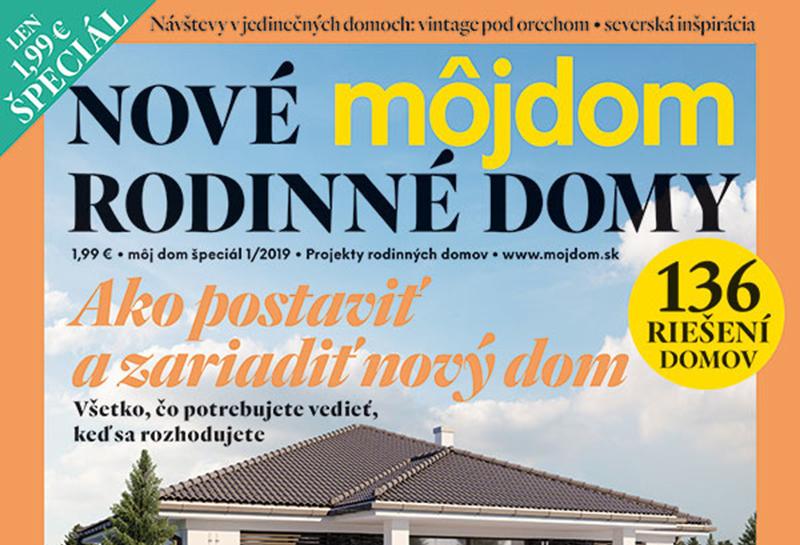 Môj dom špeciál 01/2019: Katalóg projektov rodinných domov