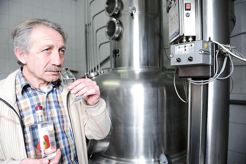 destilovanie alkoholu