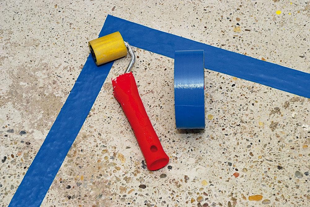 príprava betónovej podlahy pred natieraním