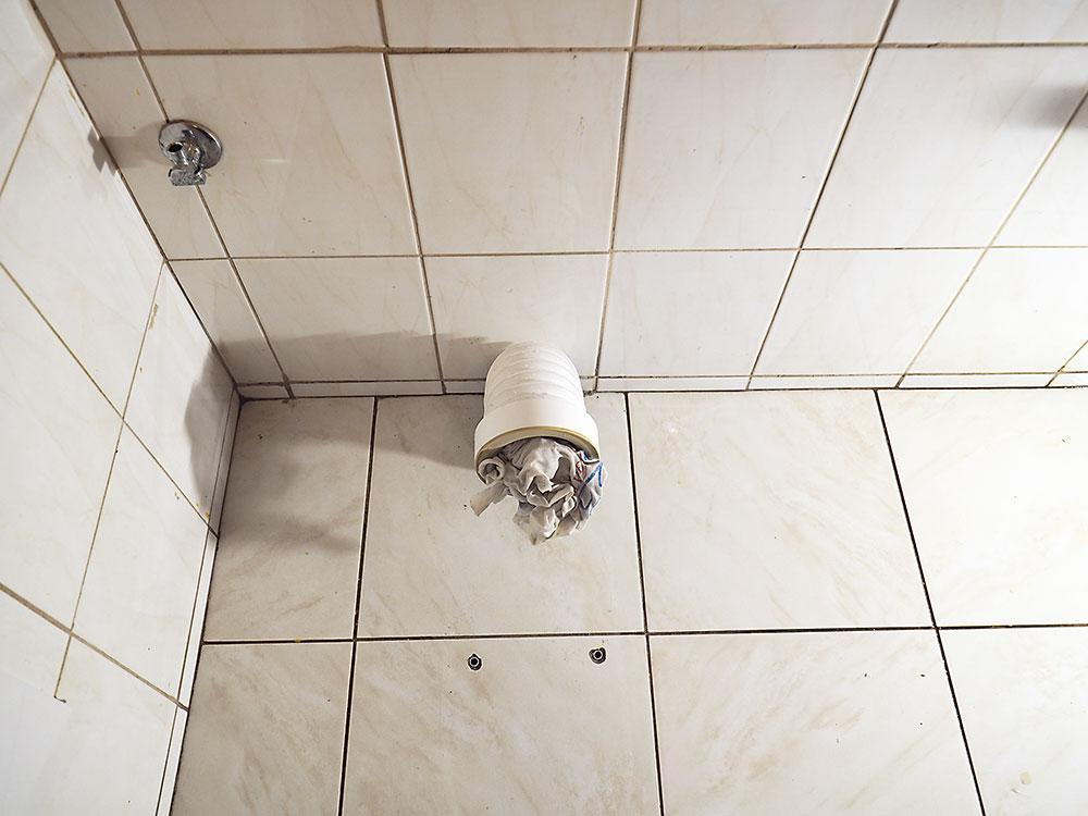 odpadové potrubie WC misy