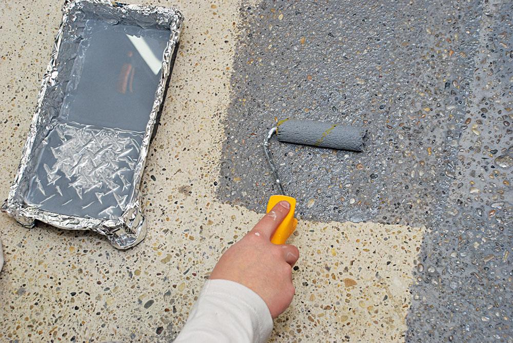 penetračný náter betónovej podlahy