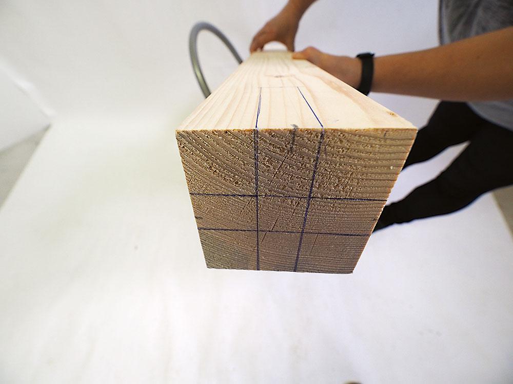 drevený hranol