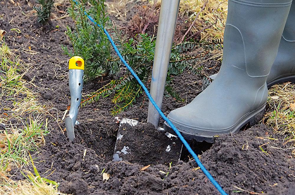 ryľovanie pôdy