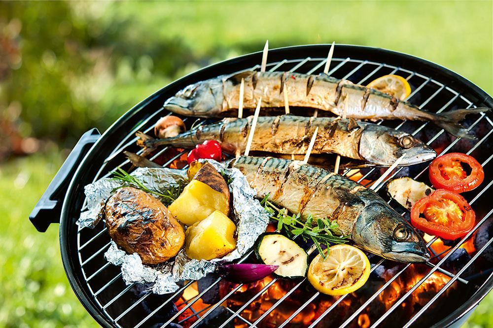 grilovanie rýb