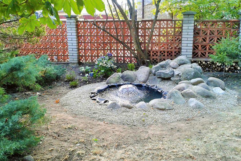 Záhradné minijazierko