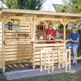 záhradný bar