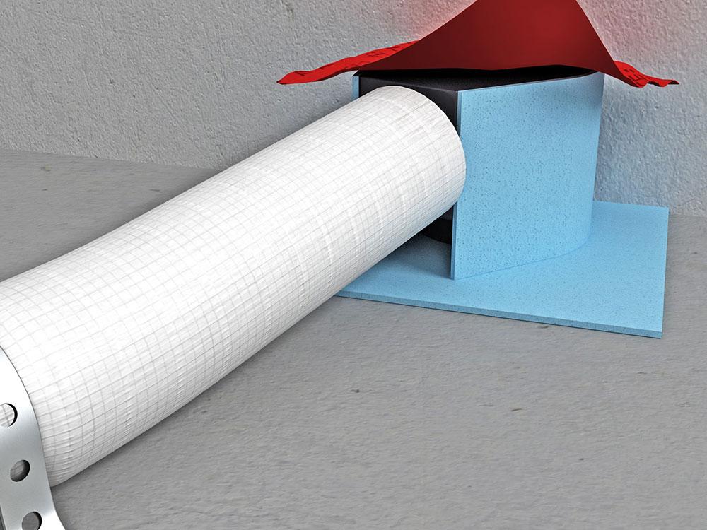 montáž odpadovej rúry v sprchovacom kúte