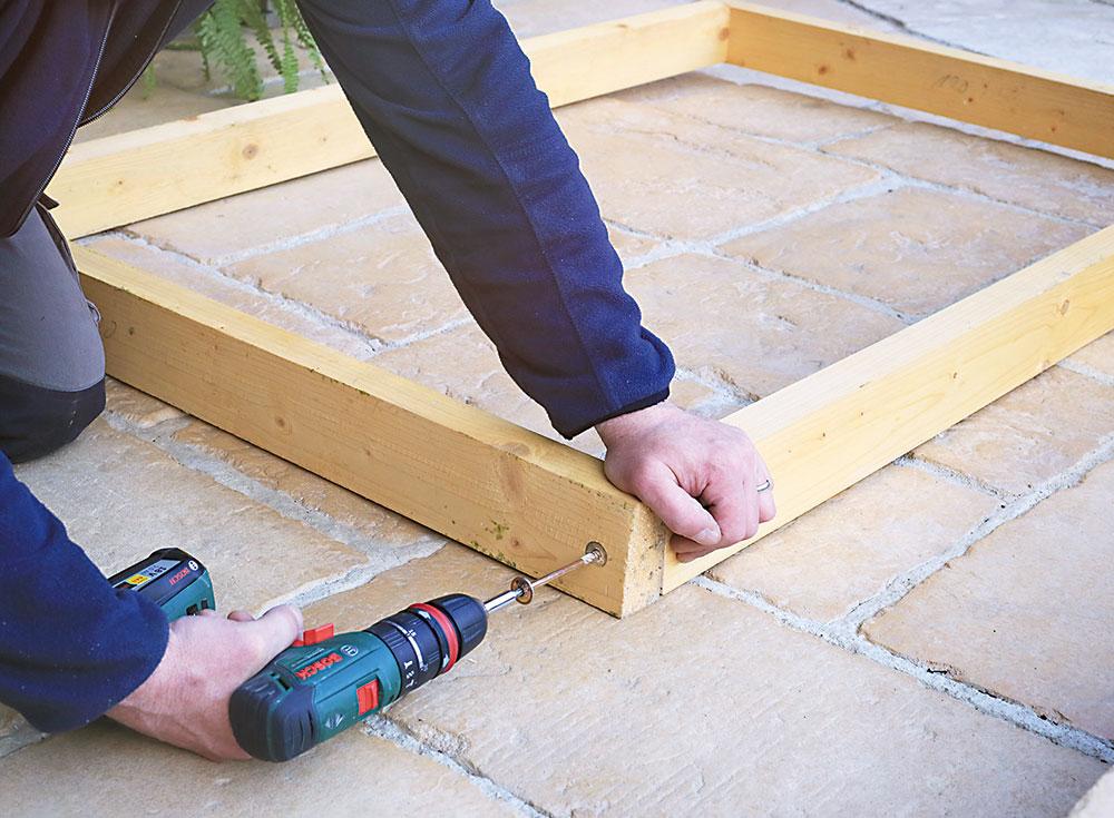 spájanie drevených hranolov