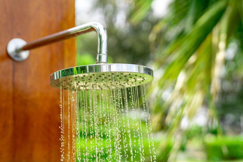 Záhradná sprcha