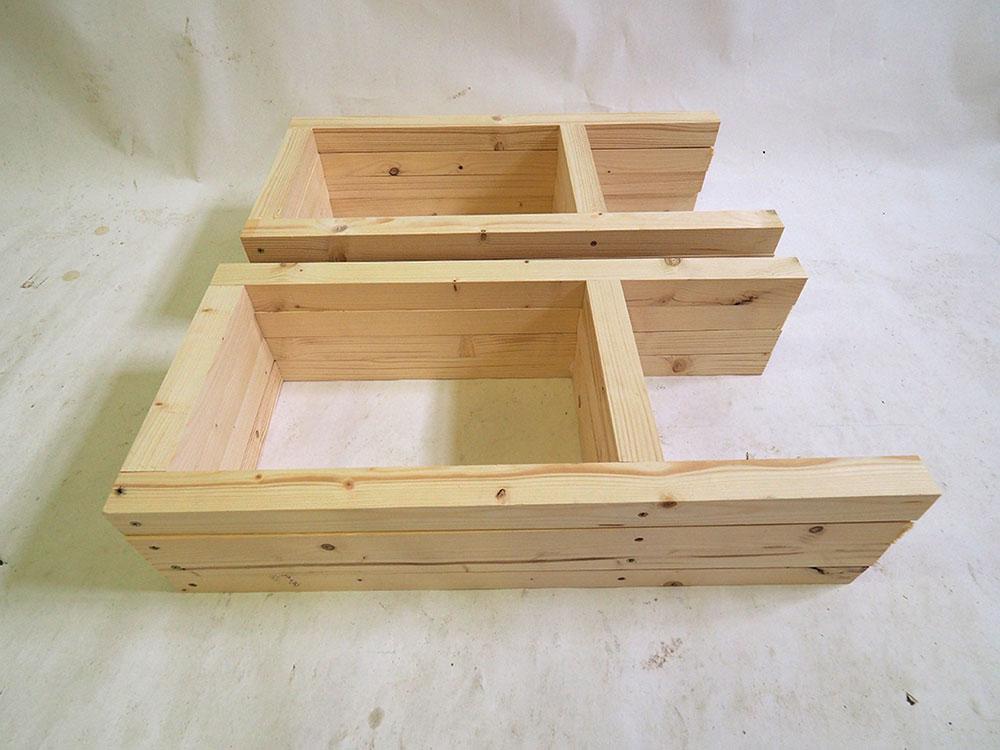 drevené rámy stoličiek