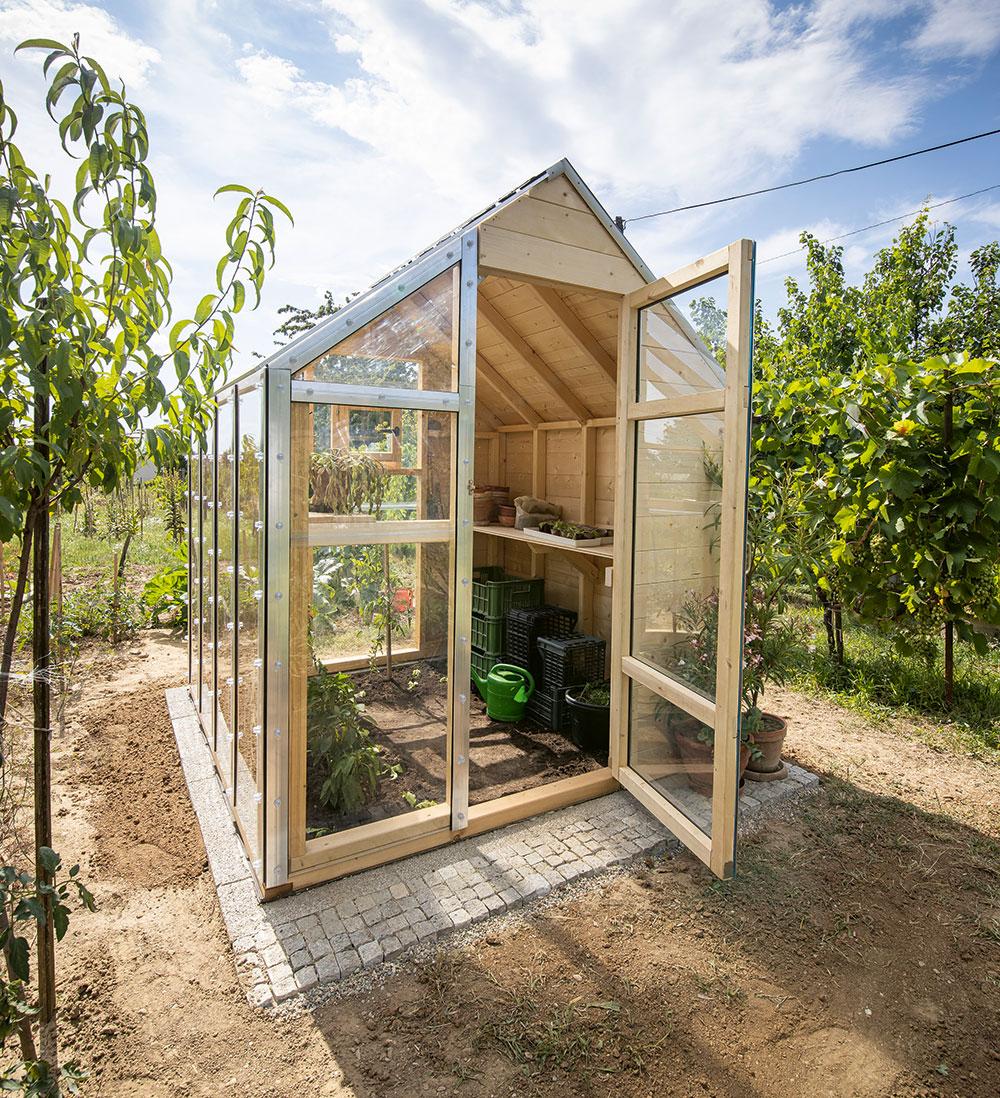 záhradný skleník