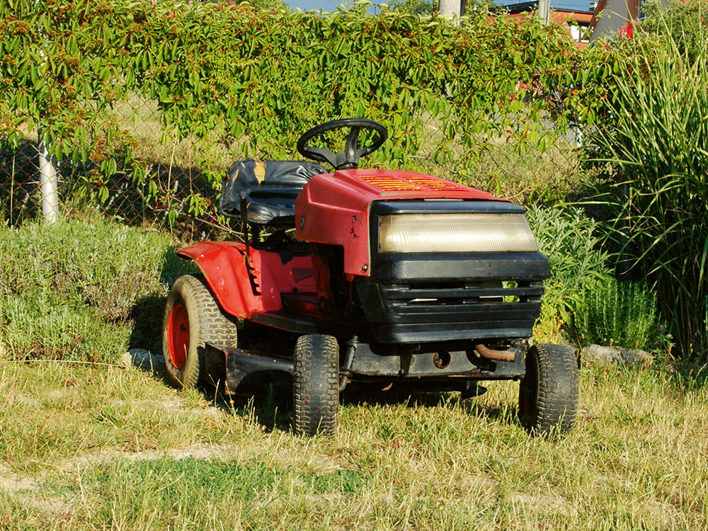 traktorová kosačka