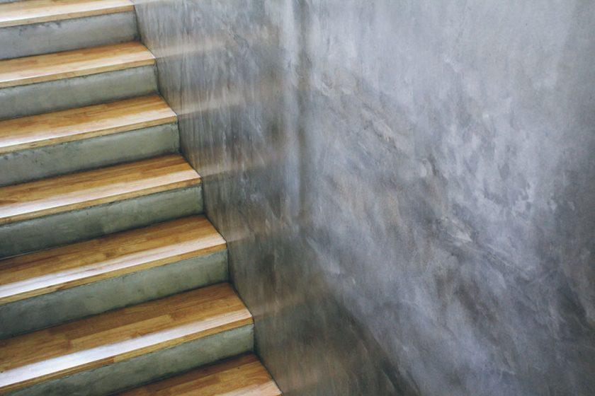 Rekonštrukcia betónového schodiska