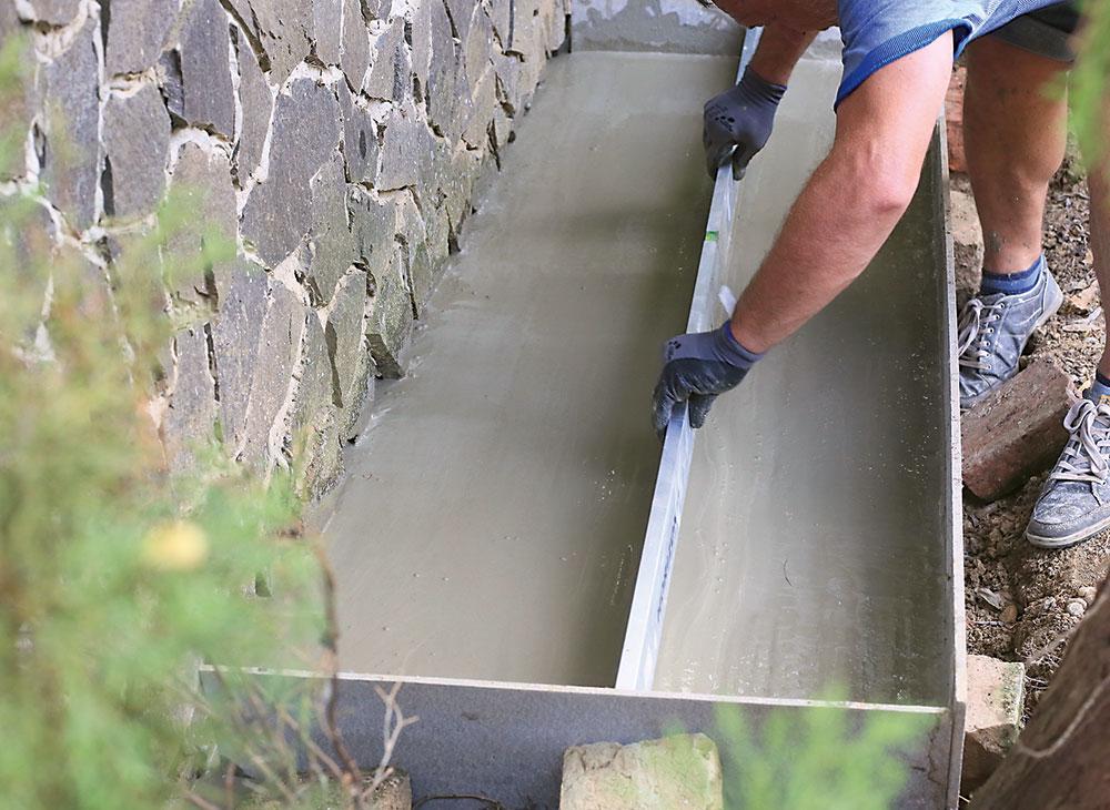 zarovnanie betónového povrchu