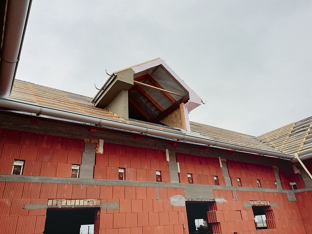 oplechovanie strechy
