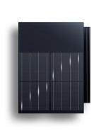 strešná krytina s integrovaným solárnym článkom