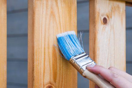 Maľovanie plota