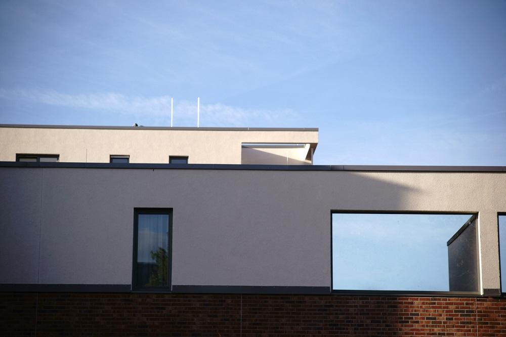 plochá strecha na rodinnom dome