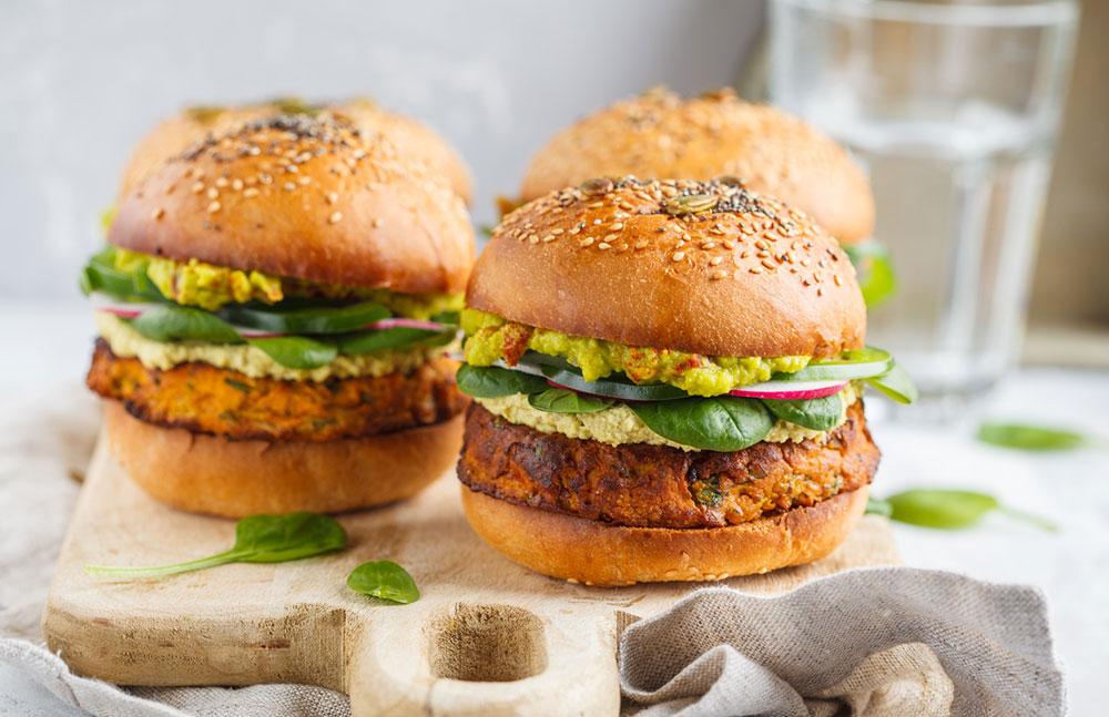 hamburgerové žemle