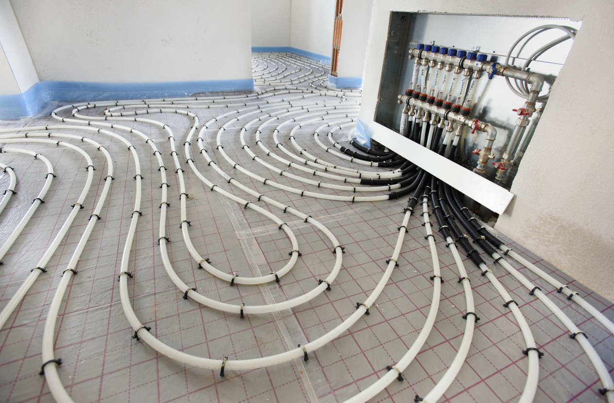 podlahové vykurovanie