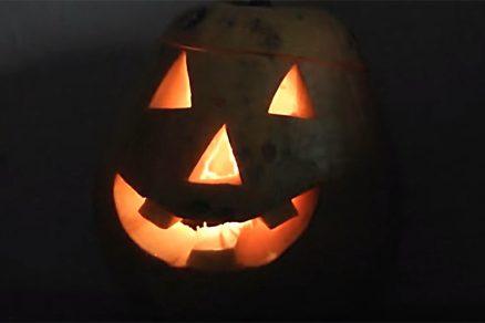 Halloweenská tekvica