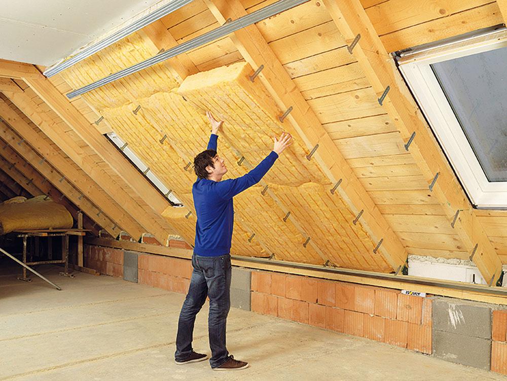 zeteplenie strechy