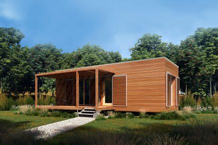 ekologicka mobilná drevostavba