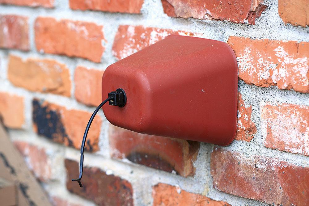 Kryt na vodovodnú batériu