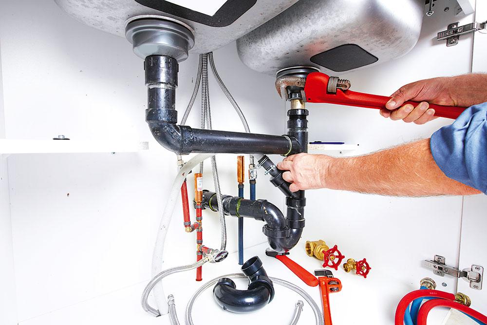 oprava odtokového ventilu