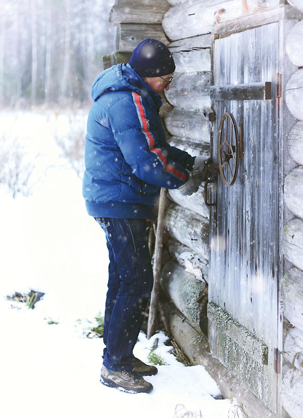 odomykanie zamrznutej zámky