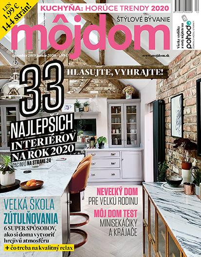 Ročné predplatné časopisu Môj dom z vydavateľstva JAGA
