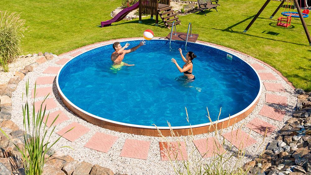 Rodinný bazén Azuro Vario V