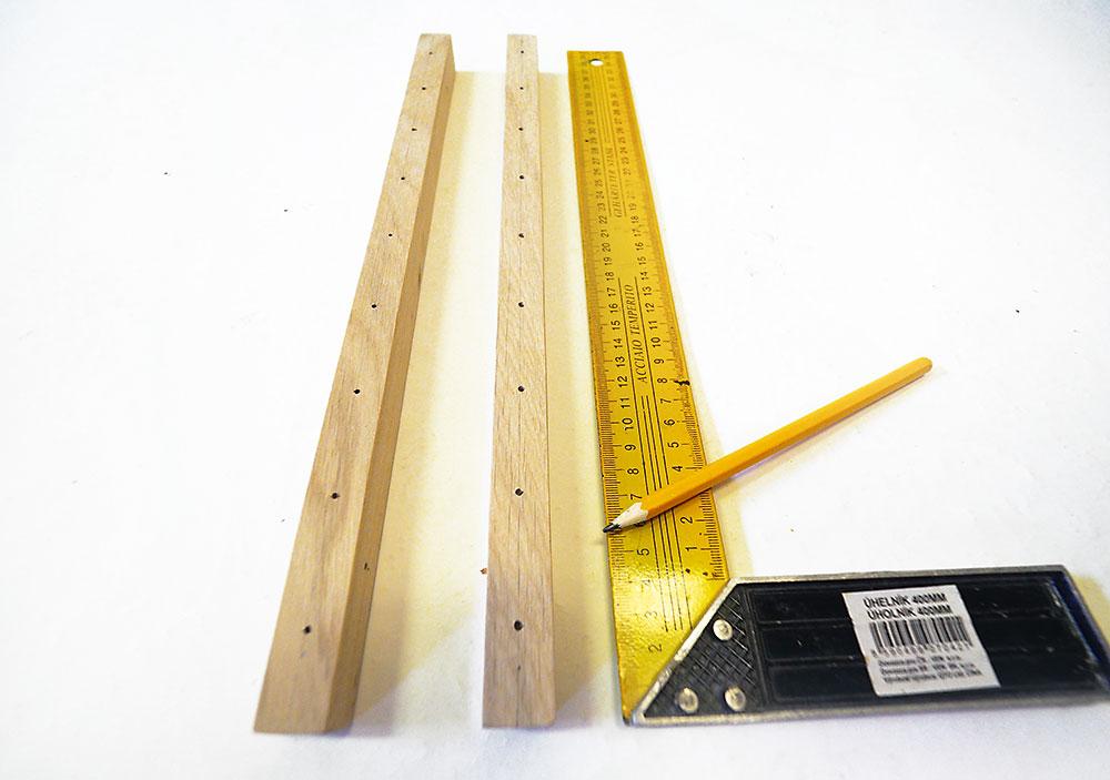 drevený stojan