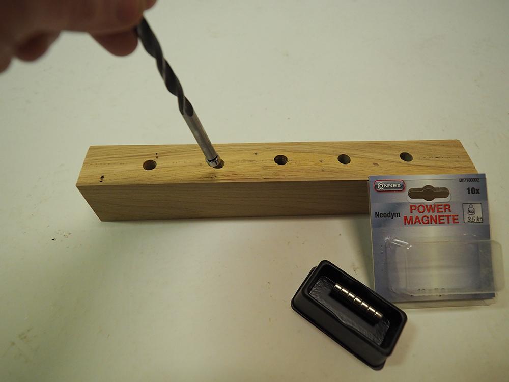 Vkladanie magnetov