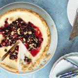 raňajkový cheesecake