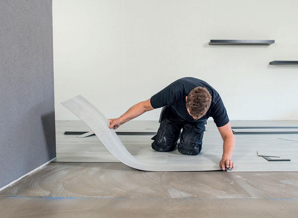 pokládka vinylovej podlahy