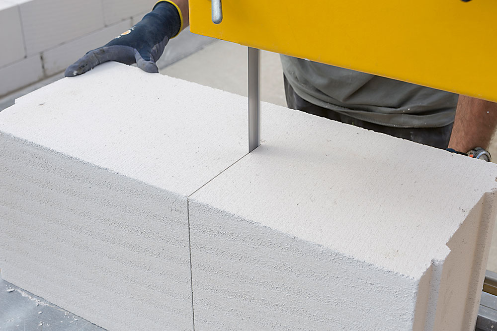 stavebný materiál porobeton