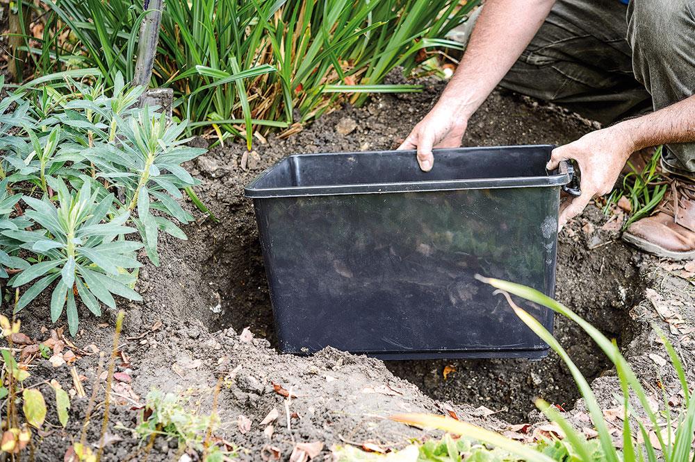 zakladanie malého záhradného jazierka