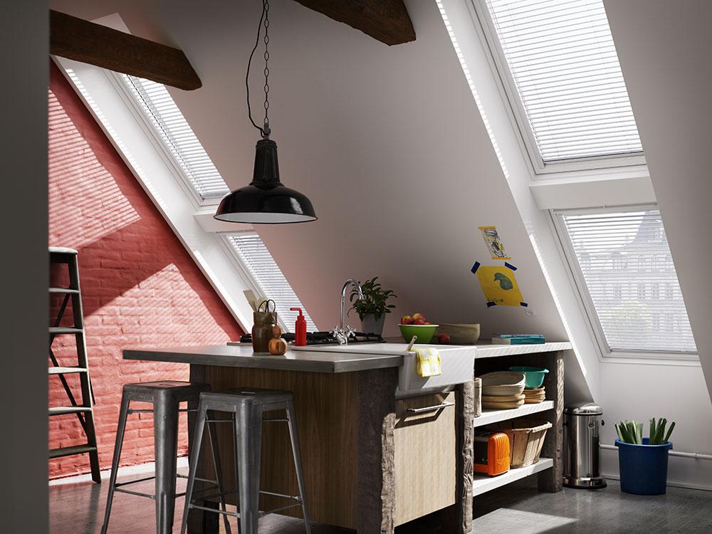 strešné okno v podkroví