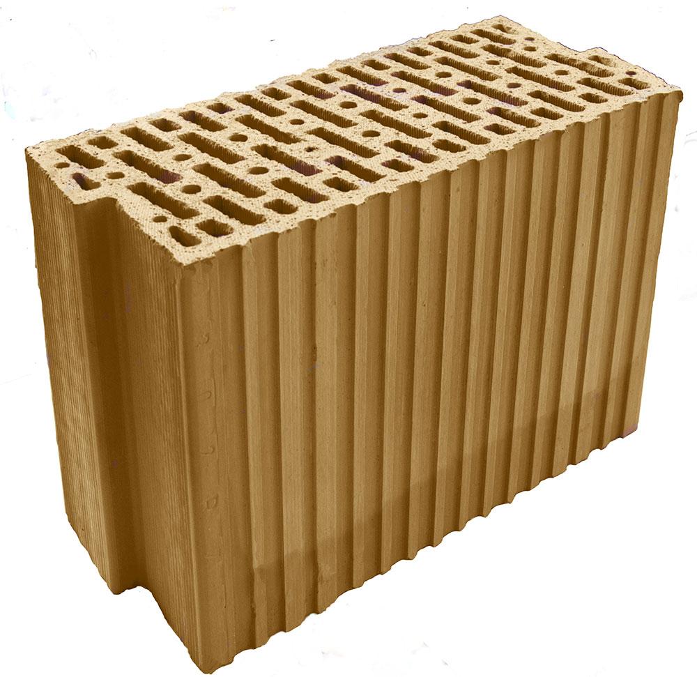 Tehlový brúsený akustický blok HELUZ AKU Z 17,5