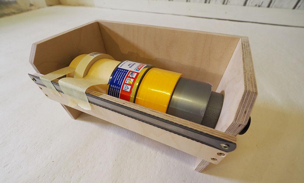 zásobník na pásky