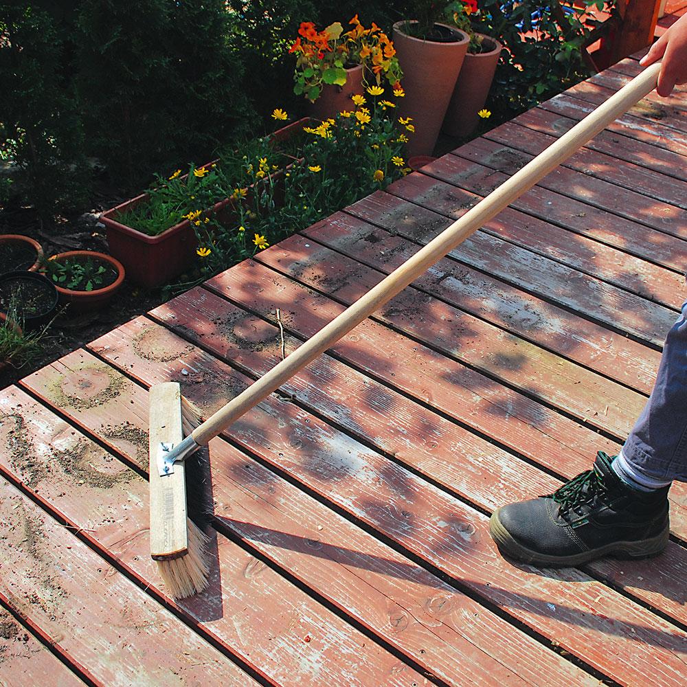 údržba drevenej terasy