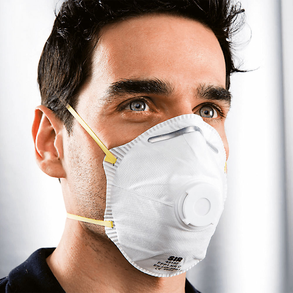 respirator FFP1 s filtrom