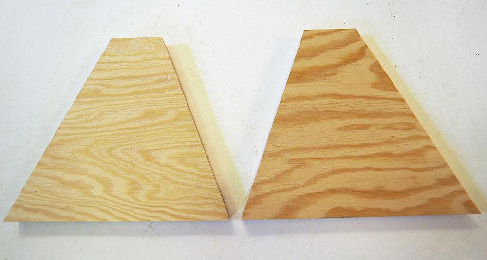 výroba Piklerovej trojuholníka