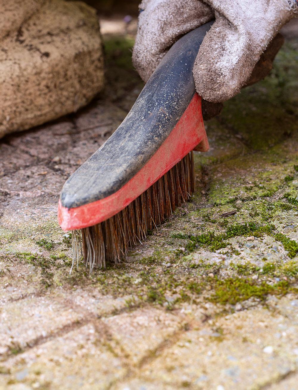 obnova záhradnej dlažby