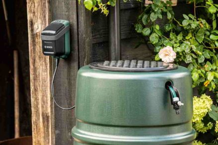 akumulátorové čerpadlo na dažďovú vodu