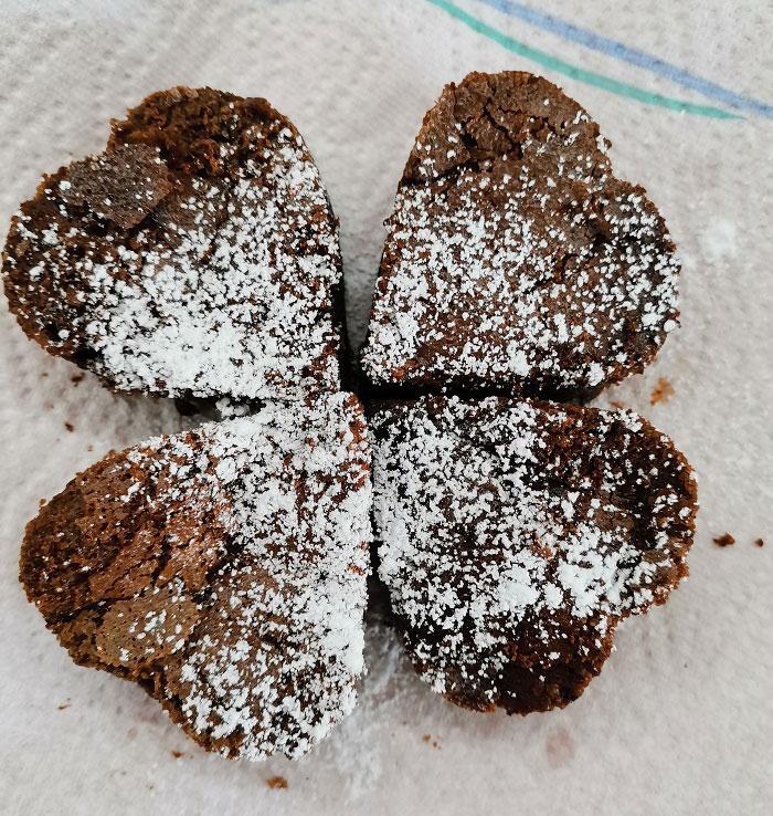 Čokoládový lávový koláč