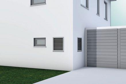 Prieduchy cez stenu rodinného domu