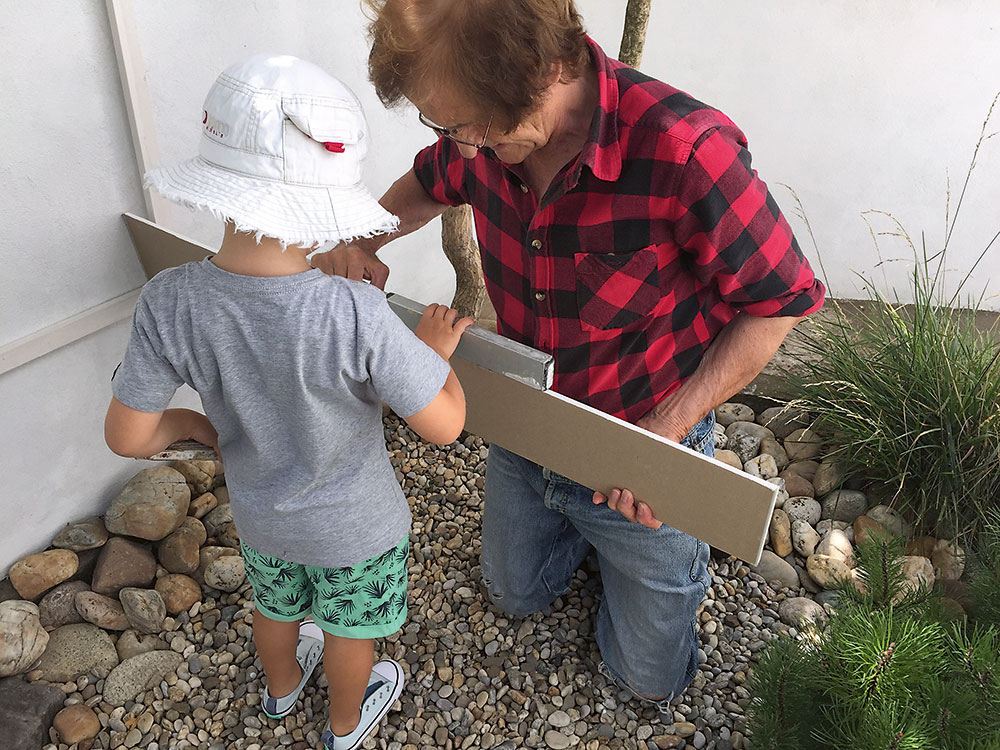 výroba záhradného domčeka